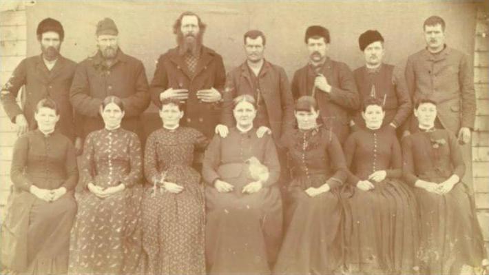 Early Flynn Family Portrait