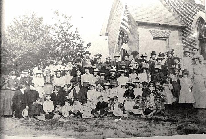 Omard Congregation 1900