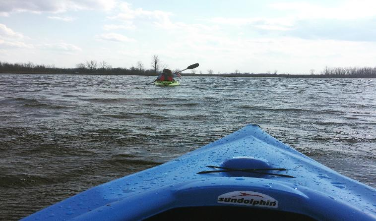 Kayaking Flynn Township